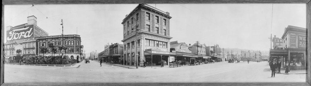 Courtenay Place/Taranaki intersection