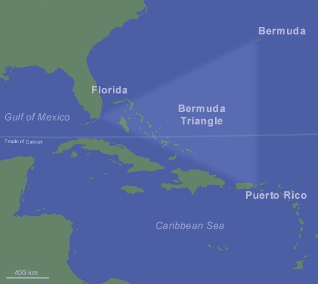 bermuda triangle image