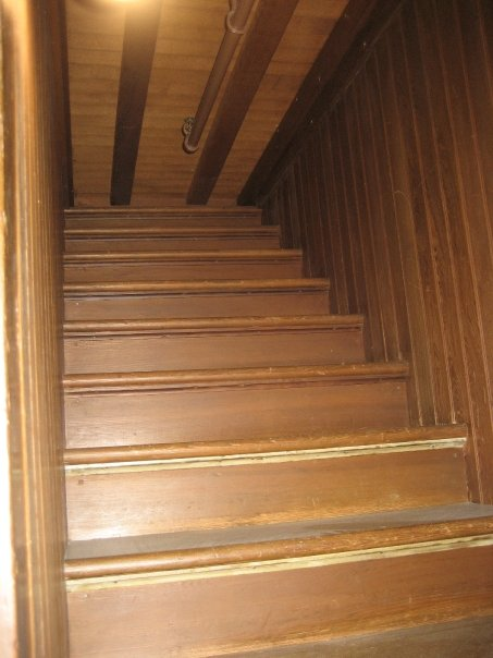 Dead end stairs