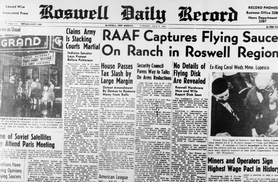 Rosewell UFO Sightings
