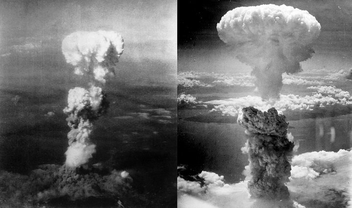 Atmoic Bombing of hiroshima.