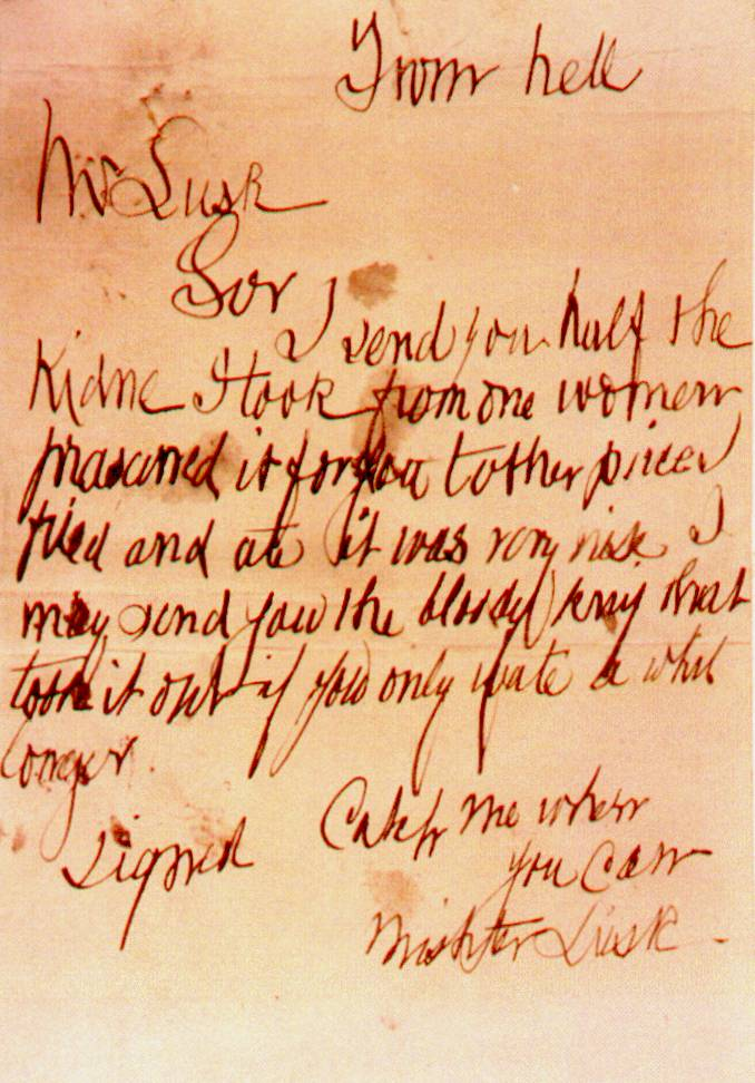 FromHell Letter