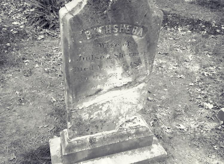 Bathsheba's grave