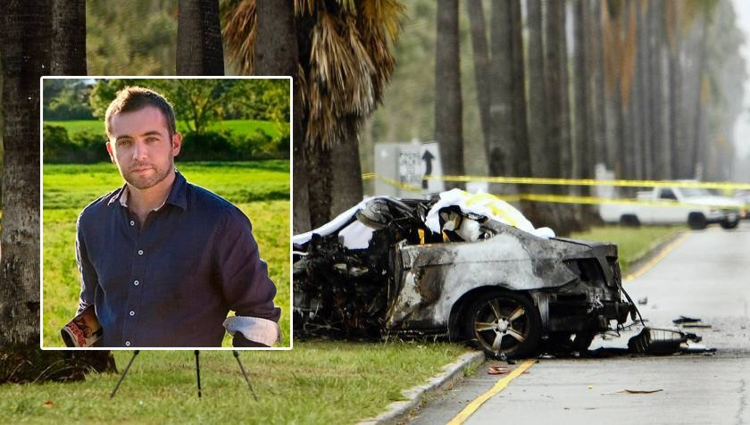 Michael Hasting car crash