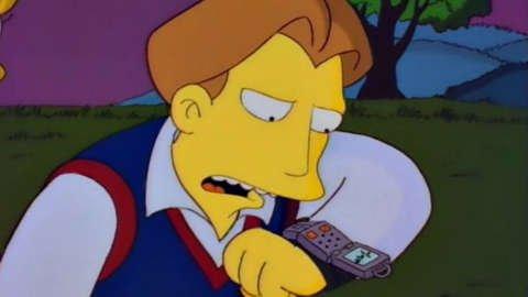 Lisa's husband using smart watch
